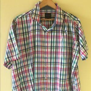 Linea Uomo Shirts - Men's Big & Tall Short Sleeve 3X